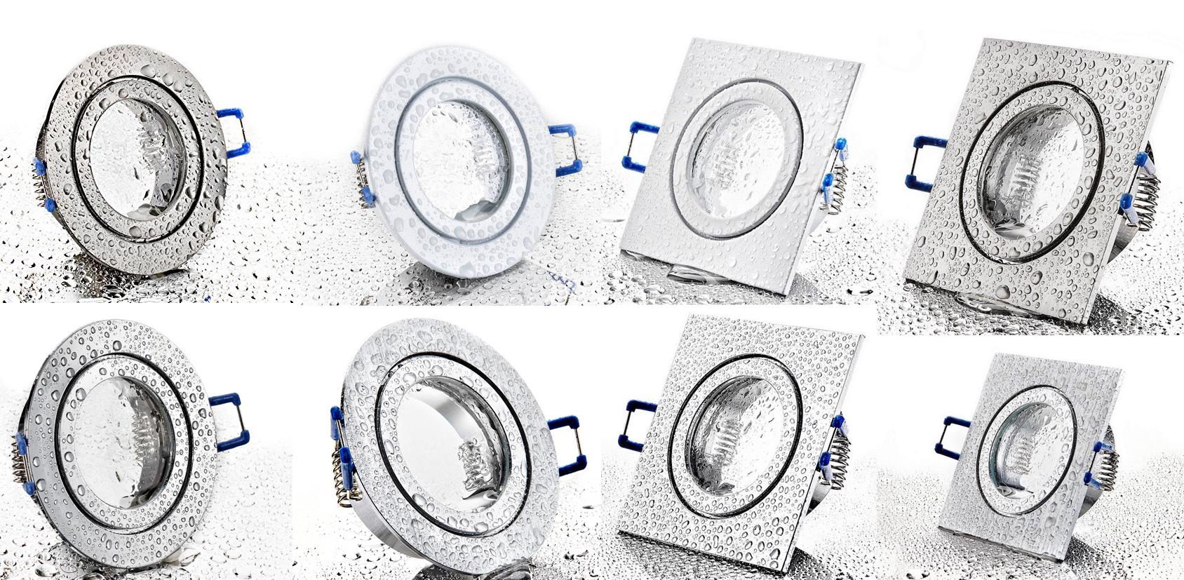 IP44 LED Einbaustrahler Set 230V