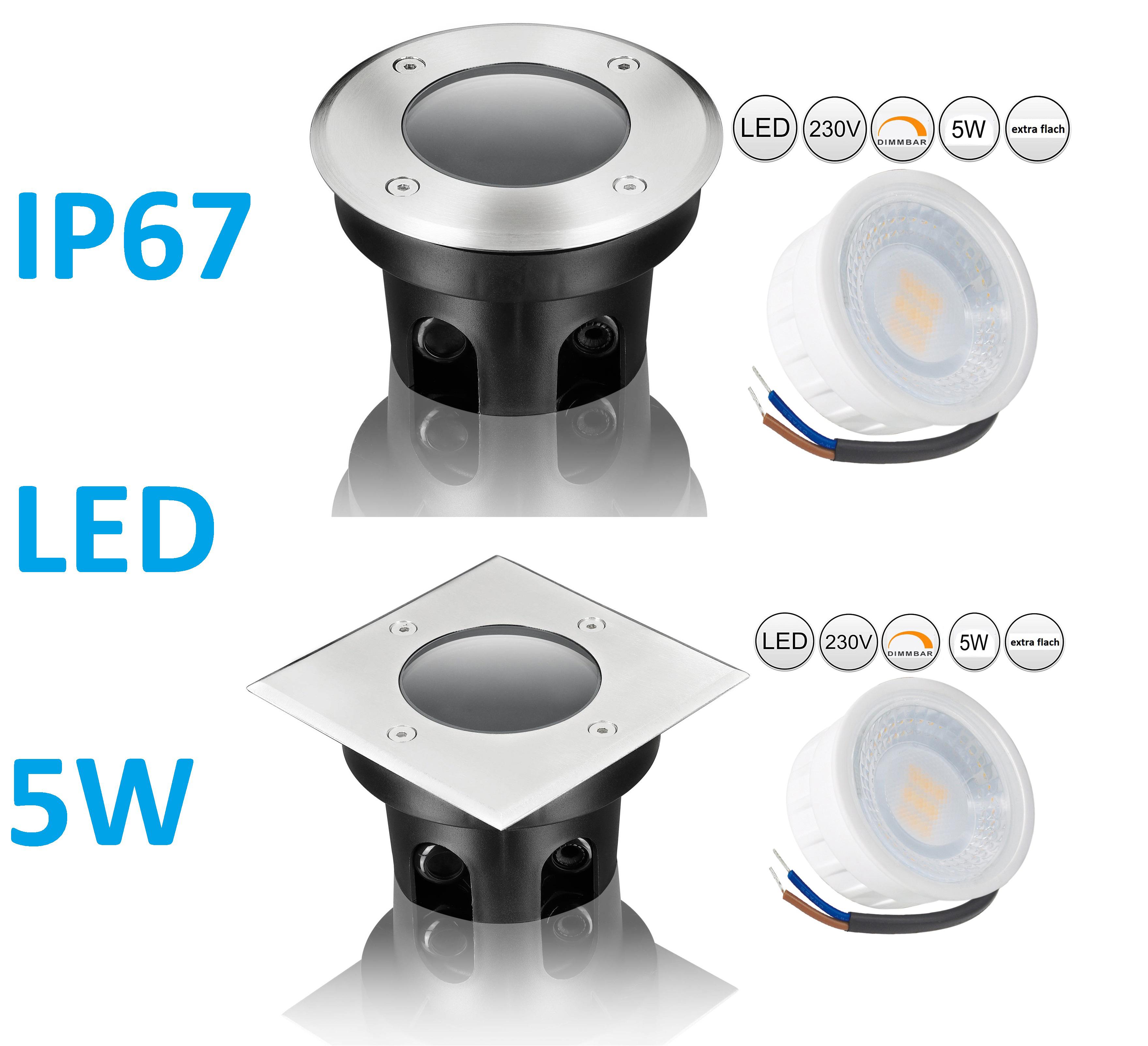 LED Außenleuchten 230V