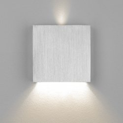 LED Wand Treppenleuchte Aluminium 1,5W warmweiß 230V dezent indirekt