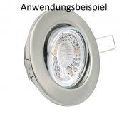 LED Modul 5W 230V Spot Strahler tageslichtweiß 25mm flach 38° 4000K stufenlos dimmbar
