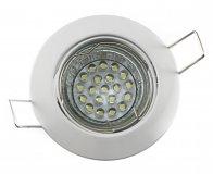 LED GU10 Einbauleuchten Set 1,2W weiß 230V dezent
