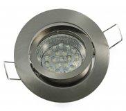 LED GU10 Einbauleuchten Set 1,2W rund 230V dezent
