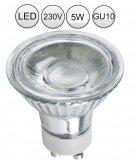 IP44 LED Einbaustrahler Set Edelstahlgebürstet rund GU10 5W 230V