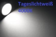 LED Einbaustrahler flach 5W Einbauleuchte silber gebürstet 230V 55mm Bohrung