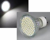 LED GU10 Strahler 54SMD Kaltweiß 230V 120° 200lm