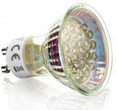 LED GU10 Spot Strahler Leuchtmittel Kaltweiß 230V 1,2W dezente Leuchte